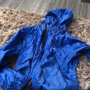 Jackets & Blazers - Blue rain jacket